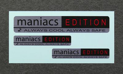 maniacs edition(ブラック×レッド) image 1