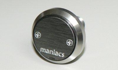 maniacs ライセンスプレートスタッド(プレーンタイプ) image 1