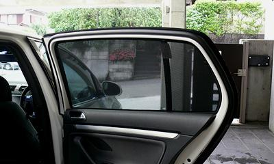 VW Sun Shade (Rear Side/Rear) 4dr(Golf5) by maniacs image 1