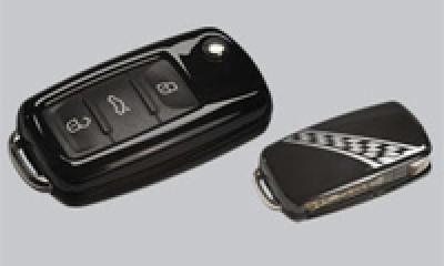KEYART Volkswagen Key Cover (柄物 -MY2009) image 1