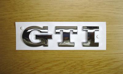 Golf5 GTI Rear Emblem image 1